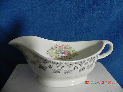 Leighware Warranted 22K Gravy Boat Was 23.00   Merry Christmas