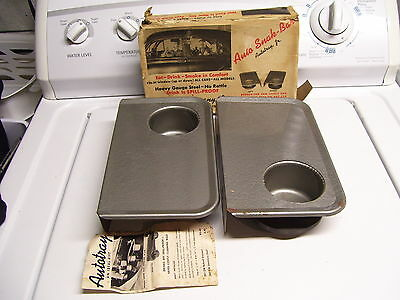 50s Vintage Drive in AUTO TRAY window old car automobile rat rod accessory