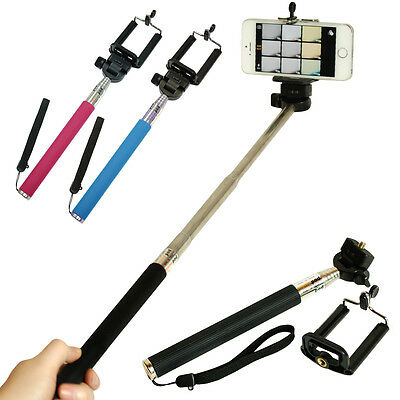 Samsung Selfie Stick Extendable Handheld Telescopic Monopod Holder for iPhone
