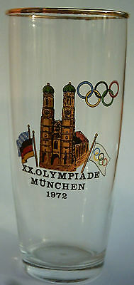 Orig.glass   Olympic Games MÜNCHEN 1972 - Special Edition 2  !!  VERY RARE