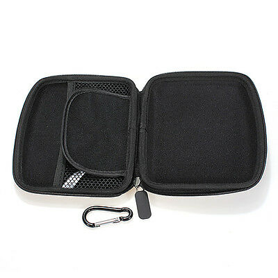 "Hard Shell Carry Case Cover 5"" Car GPS Sat Nav Holder for GPS TomTom Garmin"