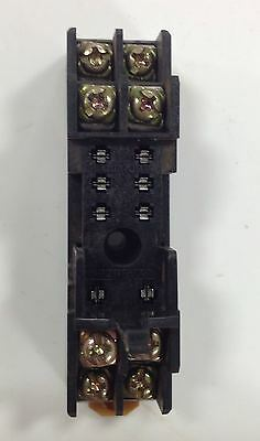 Omron Relay Socket Base Lot Of 10 P2Rf-08