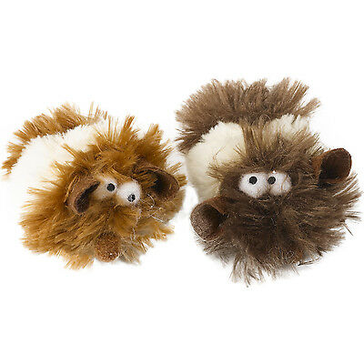 2 x Cat Vibrating Mice Interactive Play Toy Petface Kitten Catnip Stuffed Animal