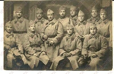 1915 ca WW1 FRANCE Soldats du 129e régiment infanterie *Photo carte postale