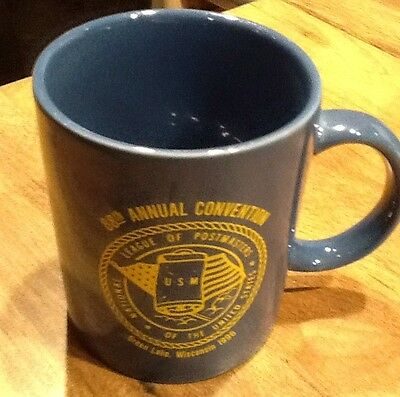 96 Green Lake Wisconsin USPS Post Office Postmasters 88 Convention Coffee Mug