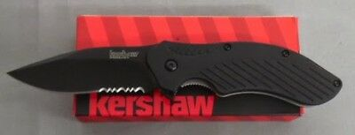 KERSHAW KNIFE 1605CKTST CLASH BLACK BLADE PARTIALLY SERRATED ASSISTED 1605 NEW