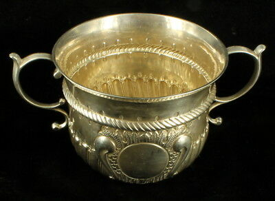 STERLING KING GEORGE V QUEEN MARY CORONATION 1935 COMMEMORATIVE LOVING CUP 227g