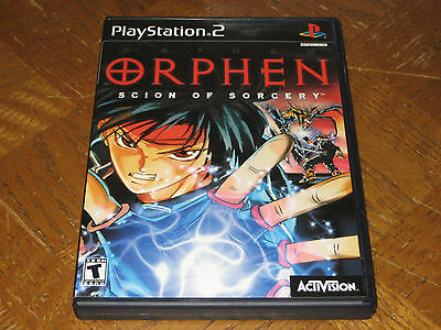 Orphen: Scion of Sorcery PlayStation 2 PS2 Complete CIB
