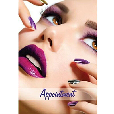 100 Premium Nails Appointment Cards, Stylish & Modern Design for Salons/Barber