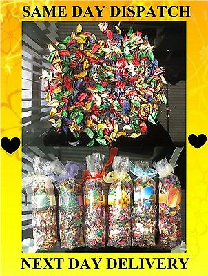 Multicoloured Pot Pourri 150g Bow Gift Bags, 6 Great Frangrances, Aroma, Scent