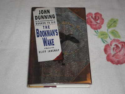 The Bookman's Wake by John Dunning      *SIGNED*