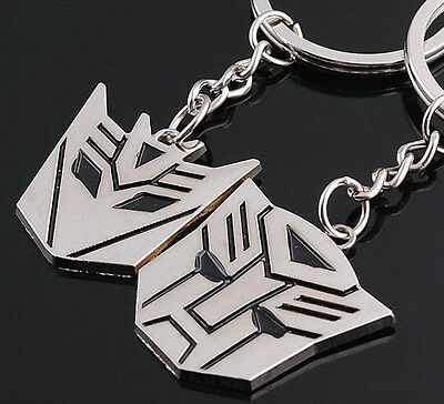 A couple keychain Fashion Metal couples keychains Key Ring for lover F062
