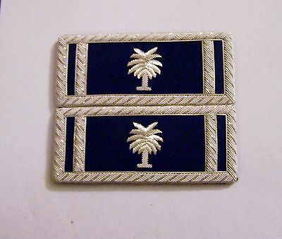 Civil War CSA Army State Carolina Straps Boards Palm Uniform Officer Lieutenant