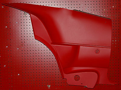 1970 71 72 73 74 CHALLENGER REAR INTERIOR DOOR PANELS SET OF 2, COUPE ONLY, RED