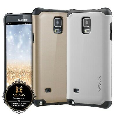 Samsung Galaxy Note 4 Hybrid Dual Layer PC + TPU Shockproof Rugged Case Cover