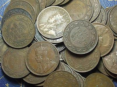 1918 Canadian Large Pennies King George V ------ Buy One Or Buy Them All ------