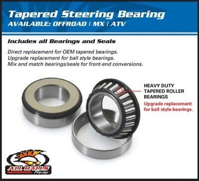 All Balls Steering Bearing Kit HARLEY FXDL Dyna Low Rider w/41mm Forks 93-04