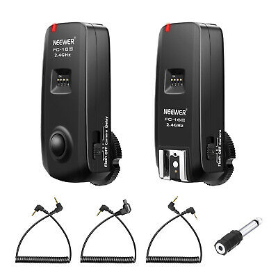 Neewer Multi-Channel 2.4GHz 3-IN-1 Wireless Flash/Studio Flash/Camera Trigger