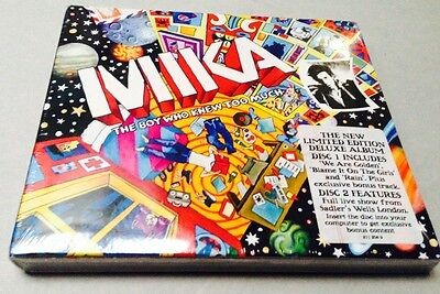 Mika - The Boy Who Knew Too Much - 2 Cd Limited Ed Deluxe Album - Sealed Mint