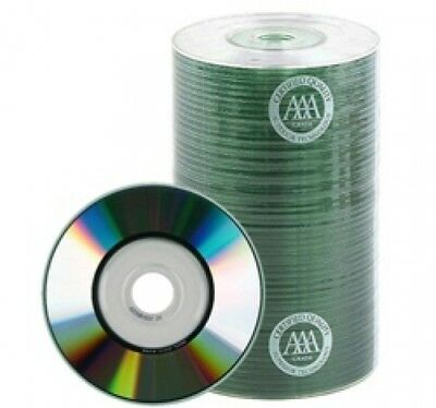 800 Spin-X 24x MINI CD-R Blank Media 22Min 193MB Shiny Silver