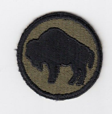Us Army Patch - 92Nd Infantry Division - Buffalo Soldiers - Original Wwii Era