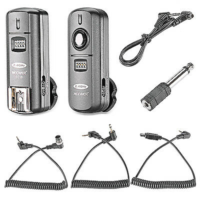 Neewer Multi-Channel 2.4GHz 3-IN-1 Wireless Flash Trigger with Remote Shutter
