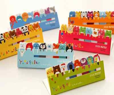Funny Animals Sticker Post-It Bookmark Marker Memo Flags Index Tab Sticky Notes