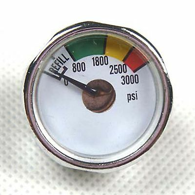 New 3000 PSI Paintball Micro Gauge