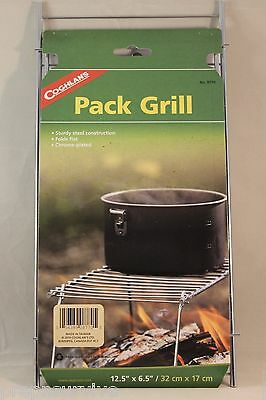 PACK GRILL CAMPING HIKING CAMPFIRE COOKING RACK FOR GRILLING MEAT HEAT POTS CUPS