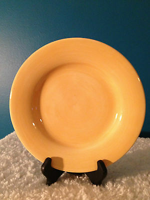 "Tabletops Gallery  Avellino - Butter  9"" Salad Plate (1)"