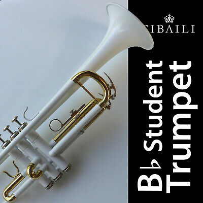 Blue Bb CIBAILI Trumpet • High Quality • Brand New With Case •