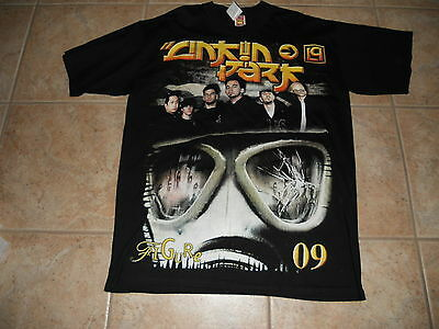 Linkn Park Hybrid Theory Figure Tour 2009 Concert Tour Mens XL Black T Shirt