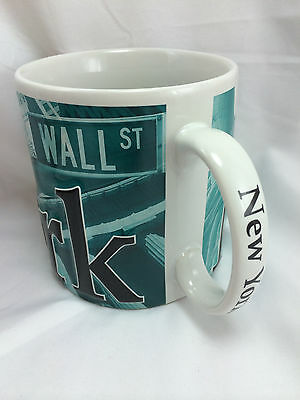 Americaware 3D Raised New York Statue of Liberty Mug Coffee Cup 2007