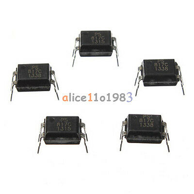 100Pcs PC817 EL817C LTV817 PC817-1 DIP-4 OPTOCOUPLER SHARP Best