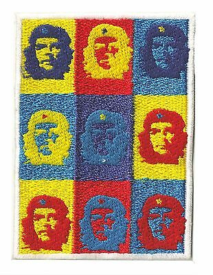 Ecusson patche Che Guevara Artwork thermocollant brodé patch