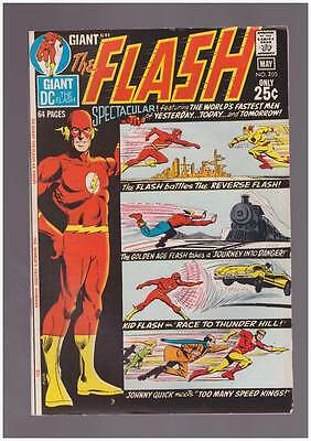 Flash # 205  World's Fastest Men of Tomorrow !  grade 7.5 scarce book !!