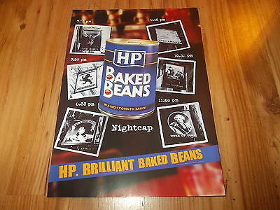 HP baked beans-1999 magazine advert