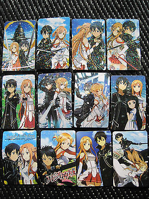 Sword Art Online Anime / Manga Stickers  (  Set of 24 )