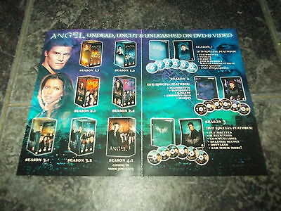 Buffy/Dark angel-double sided magazine advert