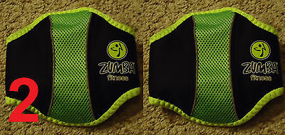 2 NEW Zumba Fitness Game Belts for Wii or PS3 World Party 2 Core