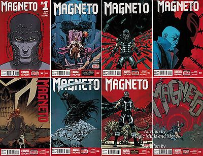 MAGNETO (8) Issue Comic Run #1 2 3 4 5 6 7 8 MARVEL NOW! 1st print lot 2014 set