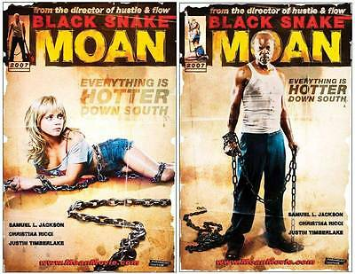 BLACK SNAKE MOAN 13x20 D/S PROMO MOVIE POSTER