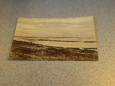 old Postcard Sea And Sand Lossiemouth