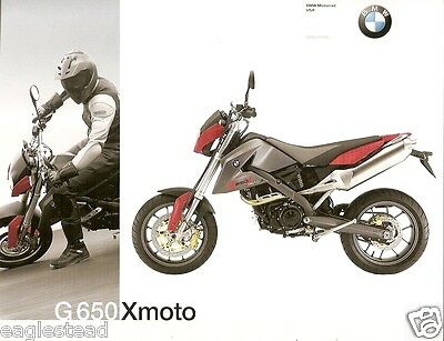 Motorcycle Brochure - BMW - G 650 Xmoto - 2007 (DC208)