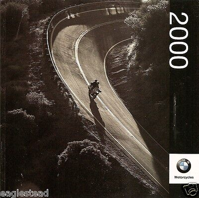 Motorcycle Brochure - BMW - Product Line Overview - 2000 (DC224)