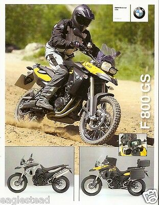 Motorcycle Brochure - BMW - F 800 GS - 2008 (DC203)