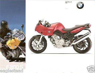 Motorcycle Brochure - BMW - F 800 S - 2007 (DC204)