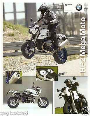 Motorcycle Brochure - BMW - HP2 Mega Moto - 2008 (DC212)