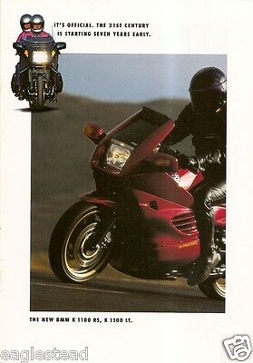 Motorcycle Brochure - BMW - K 1100 RS - LT - 1993 (DC214)