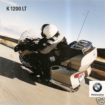 Motorcycle Brochure - BMW - K 1200 LT - 2002 (DC217)